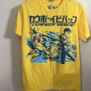 American Apparel Yellow Anime T-Shirt Size M